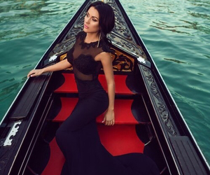 dress, black, and venice image