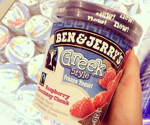 ice cream and ben&jerrys image