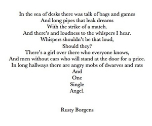 poem, stuck in love, and love image