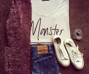 fashion, monster, and outfit image