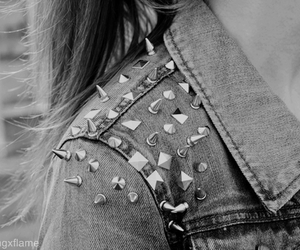 fashion, studs, and spikes image