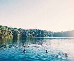 lake, water, and summer image