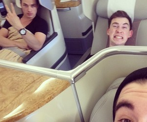 hardwell, dyro, and dannic image