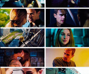 four, divergent, and love image