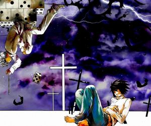 death note, near, and l lawliet<3 image
