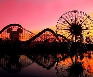 disney, fun, and sunset image