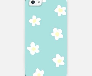 blue, daisys, and flowers image