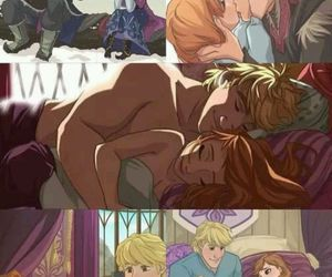 frozen, love, and anna image