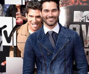 teen wolf, tyler hoechlin, and crystal reed image