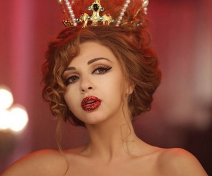 hair, lips, and myriam fares image