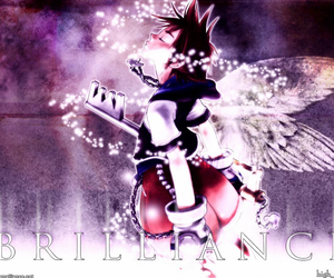 anime, hearts, and kingdom hearts image