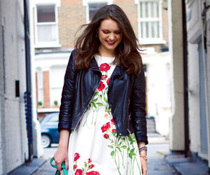 chic, flowers, and Teen Vogue image