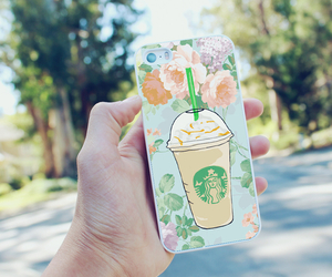 coffee, fashion, and frappuccino image