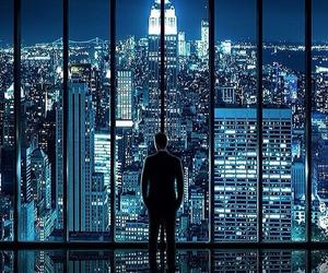 city, penthouse, and skyline image