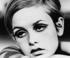 twiggy, model, and 60s image
