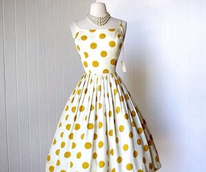 vintage, 1950, and dress image