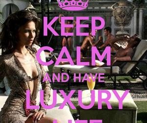 luxury and keep calm image