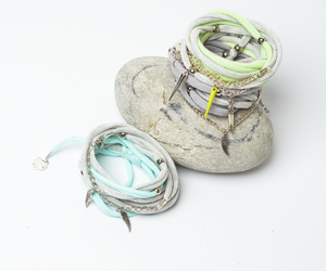 cotton, mint, and gray image