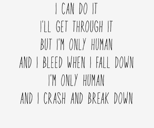 human, quotes, and song image