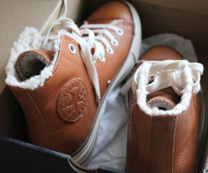 brown, converse, and cool image