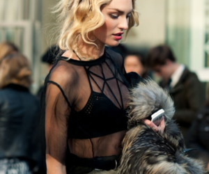 fashion, model, and candice swanepoel image