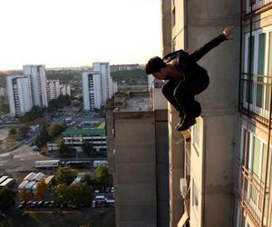 boy and parkour image