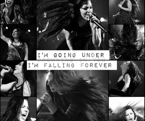 amy lee, black and white, and brasil image