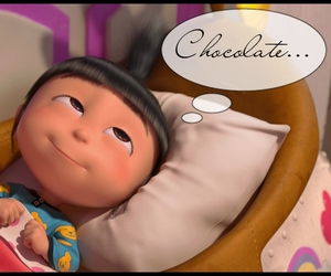 agnes, cute, and chocolate image
