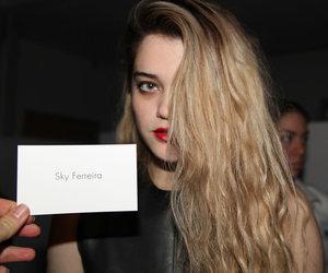 fashion, sky ferreira, and model image