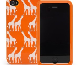 cover, giraffe, and iphone image