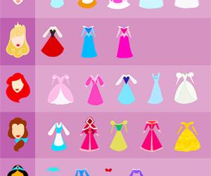 dress, disney, and princess image