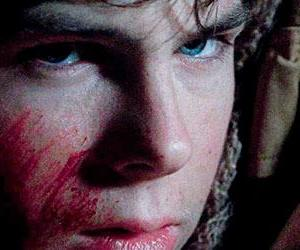 twd, carl grimes, and eyes image