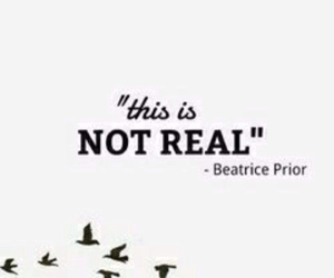 six, not real, and beatrice prior image