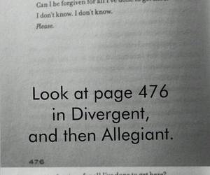 divergent, allegiant, and veronica roth image