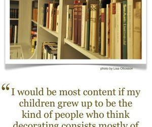 book, bookshelves, and children image