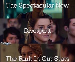 divergent, tfios, and Shailene Woodley image
