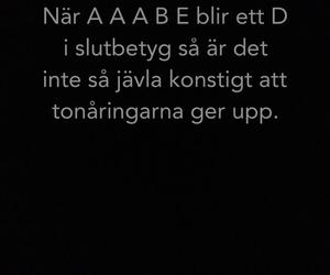 school, svenska, and swedish image