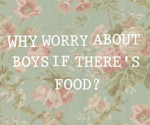 food, boy, and worry image