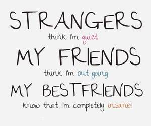 friends, stranger, and best friends image