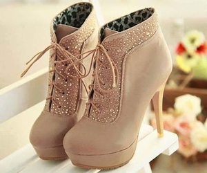 heels, shoes, and cute image