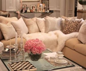 home, luxury, and living room image