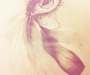 draw, eye, and light image