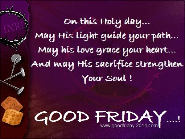 Good Friday Quotes And Sayings Greetings Wishes 2014
