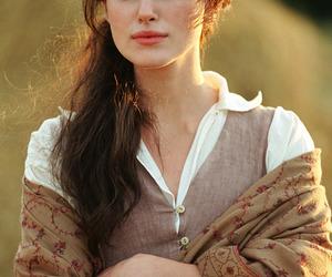 keira knightley, pride and prejudice, and elizabeth bennet image