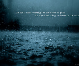 inspire, quotes, and dance in the rain image