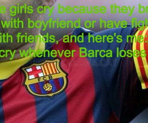 Barca, football, and forever image