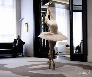 ballet, chanel, and ballerina image