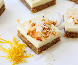bars, dessert, and food image