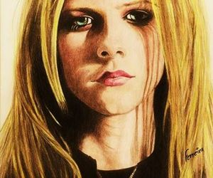 artwork, Avril Lavigne, and drawing image