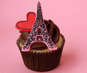 chocolate, heart, and paris image